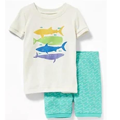 Pijama 2 peças Tubarão