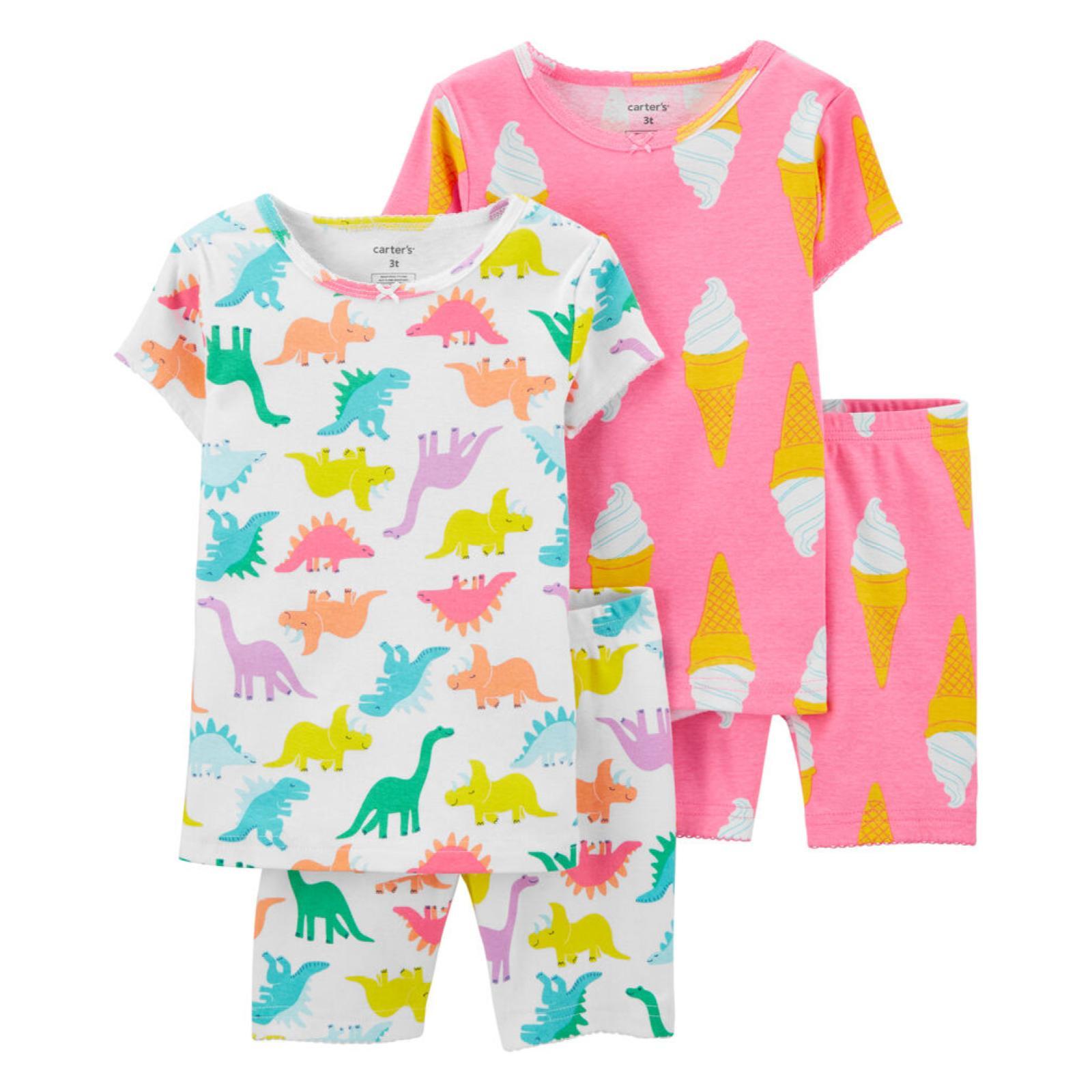 Pijama 4 pecas dinossauro