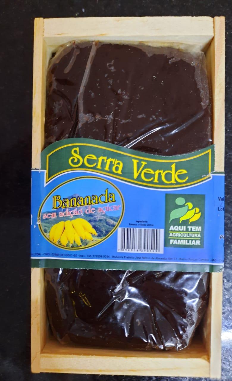 Doce de banana zero adição de açúcar - 350 g