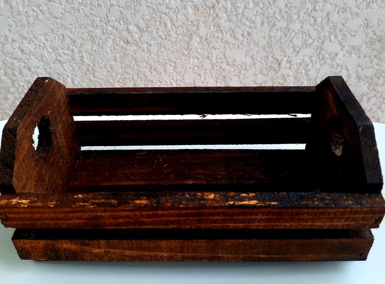 Embalagem Caixote de madeira G