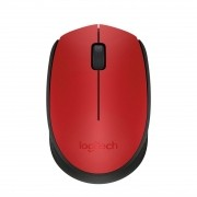 Mouse Optico sem fio M170 Vermelho Logitech