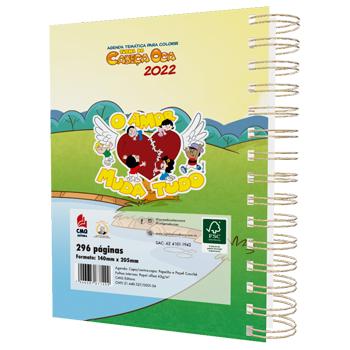 PRÉ-VENDA: Agenda 2022 Esperança Gera Vida - capa amarela