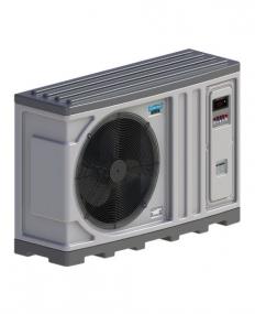 Aquecedor para Piscina - Trocador de calor TH 40 220V bif Horizontal