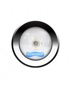 Luminaria p/ piscina led COB 10w RGB Inox 316 p/ até 25m²-Sodramar
