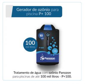 Panozon P+100 - Gerador de Ozônio para Piscina de até 100.000 litros
