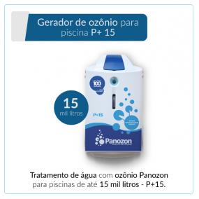 Panozon P+15 - Gerador de Ozônio para Piscina de até 15.000 litros