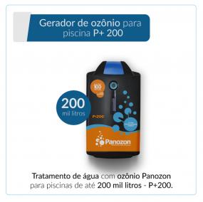 Panozon P+200 - Gerador de Ozônio para Piscina de até 200.000 litros