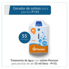 Panozon P+55 - Gerador de Ozônio para Piscina de até 55.000 litros