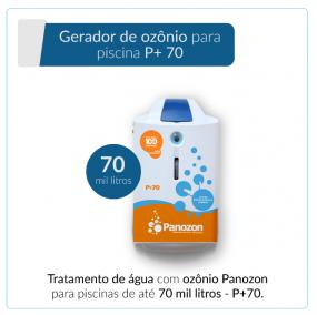 Panozon P+70 - Gerador de Ozônio para Piscina de até 70.000 litros