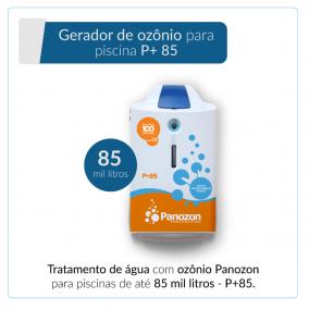 Panozon P+85 - Gerador de Ozônio para Piscina de até 85.000 litros