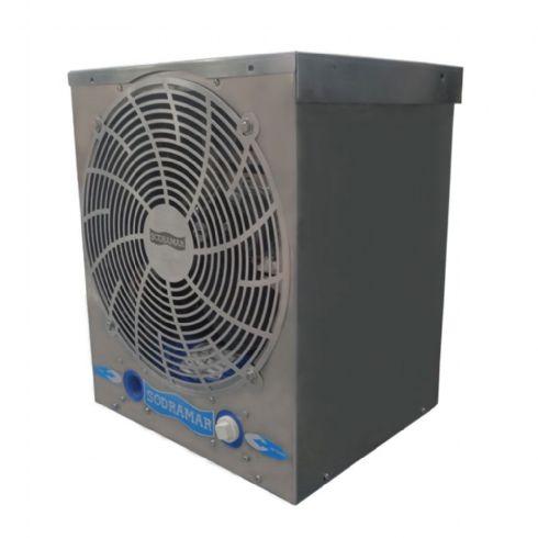 Aquecedor para Piscina - Trocador de calor TH 10 220V bif Horizontal