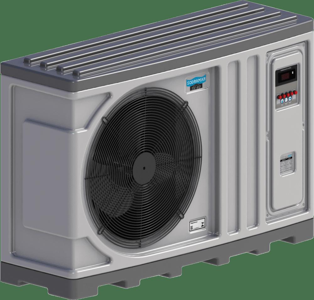Aquecedor para Piscina - Trocador de calor TH 25 220V bif Horizontal