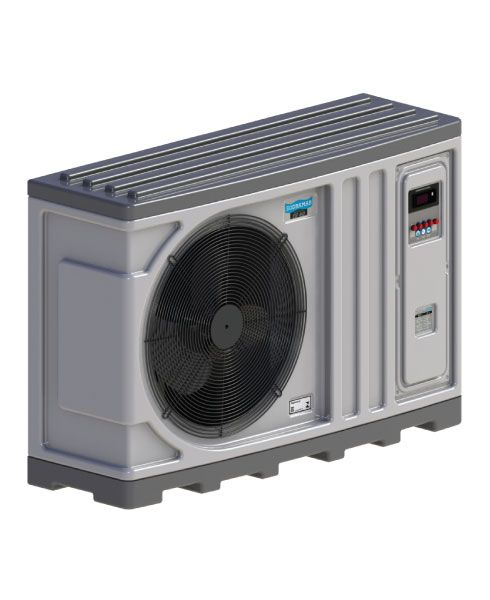 Aquecedor para Piscina -Trocador de calor TH 60 Horizontal