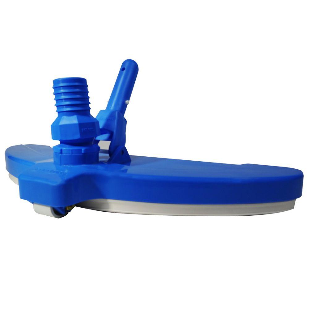Aspirador 3 Rodas p/ piscinas de fibra e alvenaria
