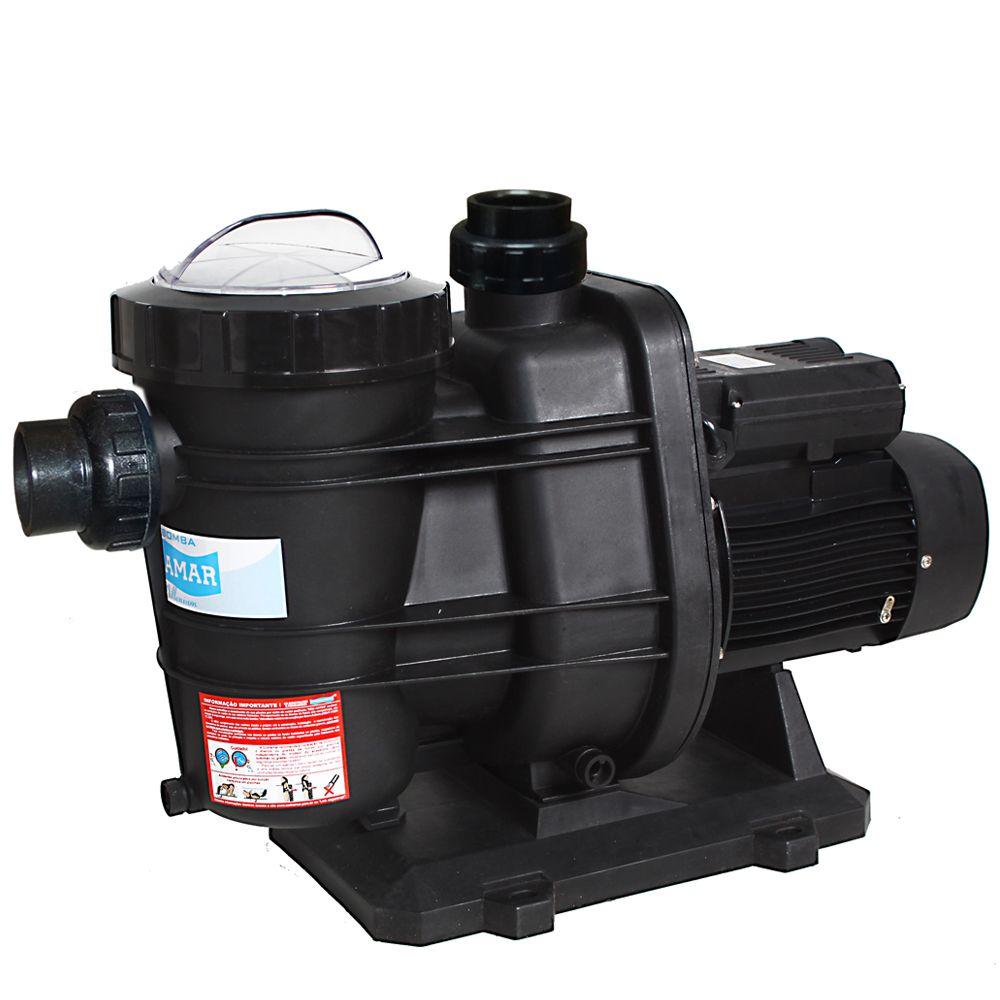 Bomba 3cv BMS-300 p/ piscinas de até 352 mil litros - Monofásico