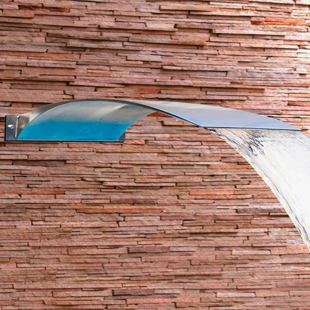 Cascata para piscina em Aço Inox Angel