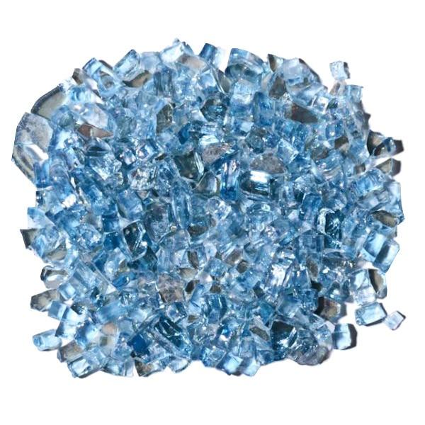 Cristal para Lareira a Gás Azul Calvert