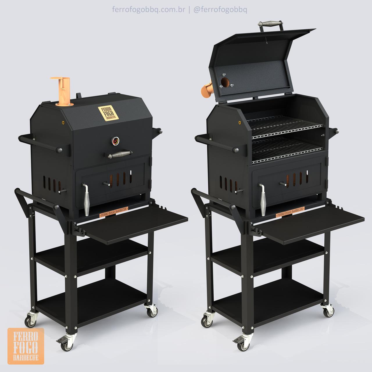 Defumador Pit Grill 460