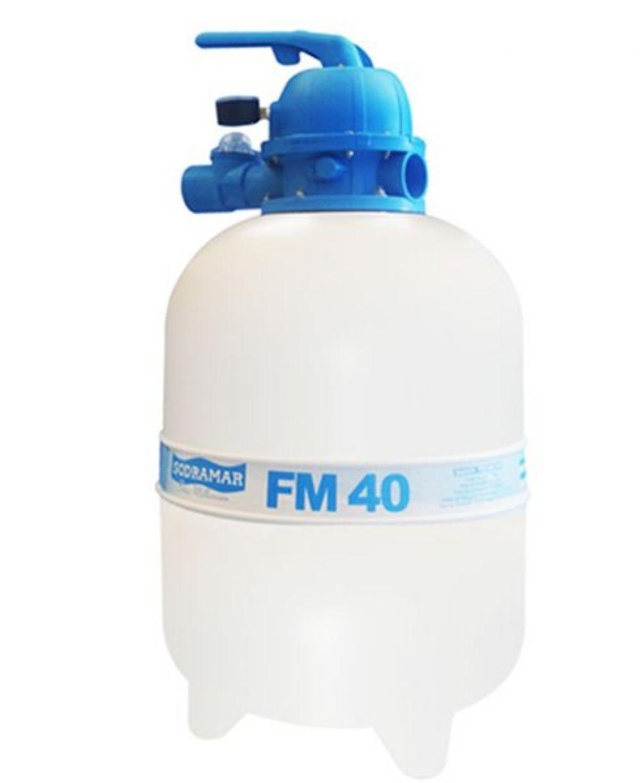Filtro para piscina FM-40 p/ até 50 mil litros