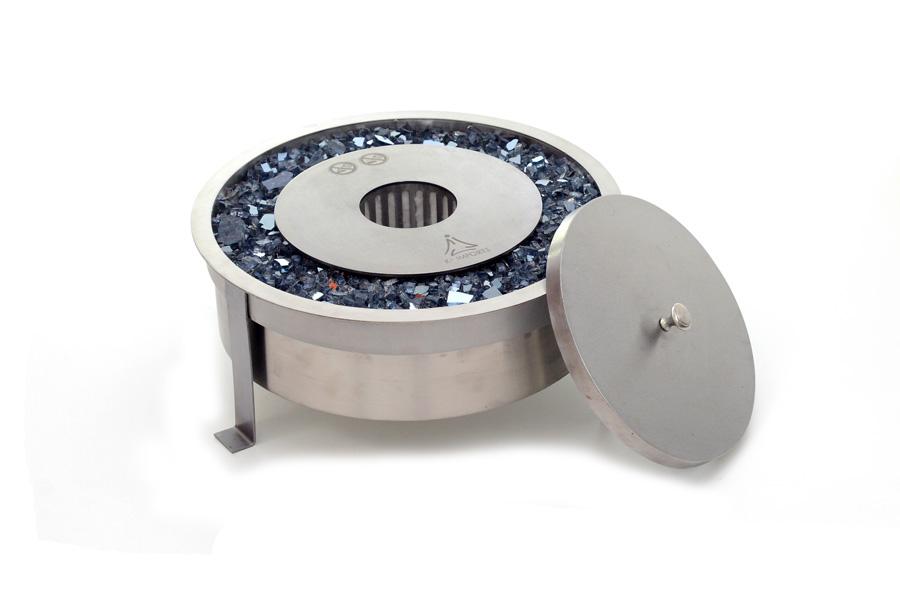 Lareira Ecológica Modelo Tocha 22 cm - K3 imports