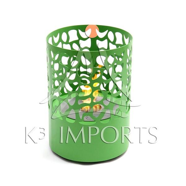 Lareira Ecológica Píton Verde