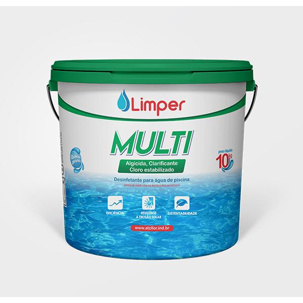 Multi 3 em 1 - Limper 10 KG