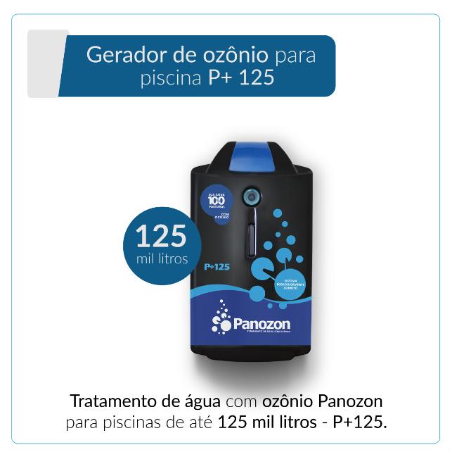 Panozon P+125 - Gerador de Ozônio para Piscina de até 125.000 litros