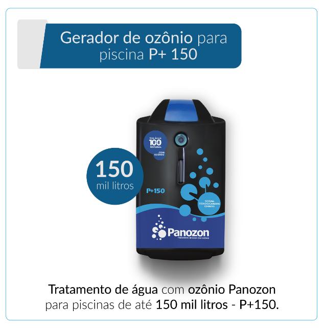Panozon P+150 - Gerador de Ozônio para Piscina de até 150.000 litros