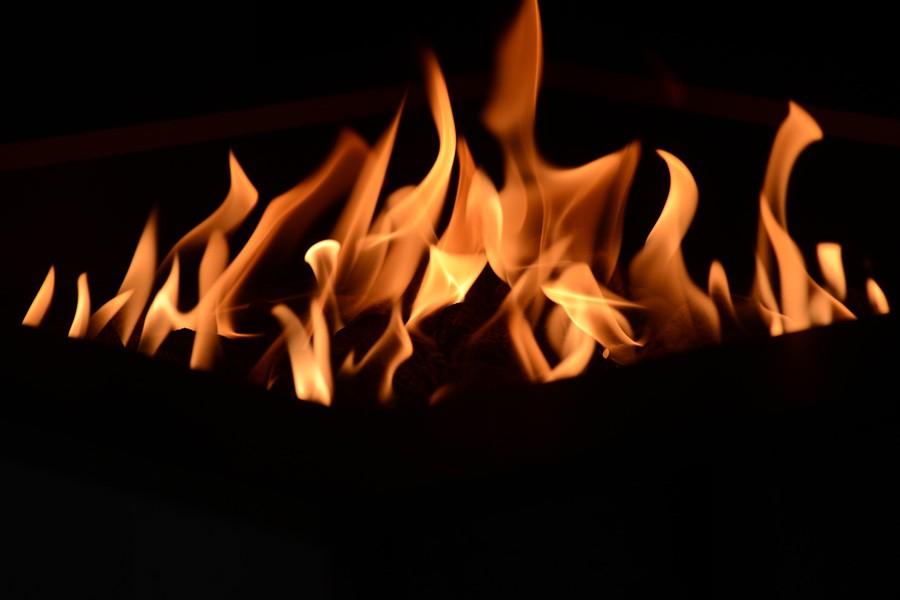 QUEIMADOR FIRE PIT – PARA ÁREAS EXTERNAS - QUADRADO