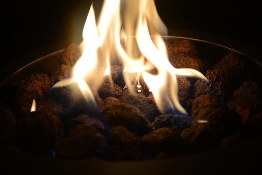QUEIMADOR FIRE PIT – PARA ÁREAS EXTERNAS - REDONDO