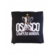 Almofada Osasco Campeão Mundial Preta