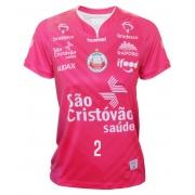 Camisa de Vôlei Osasco 2020/21 Rosa - N°2 Carol Albuquerque - Feminina