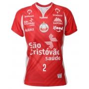 Camisa de Vôlei Osasco 2020/21 Vermelha - N°2 Carol Albuquerque - Feminina