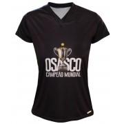 Camisa Vôlei Osasco Campeão Mundial Preta - Feminina