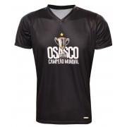 Camisa Vôlei Osasco Campeão Mundial Preta - Masculina