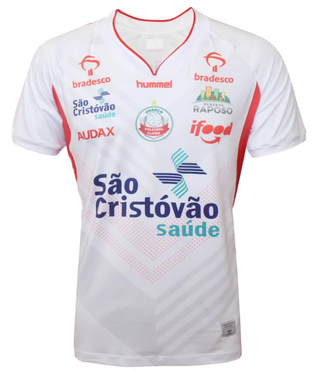 Camisa de Vôlei Osasco 2020/21 Branca - S/N° - Masculina