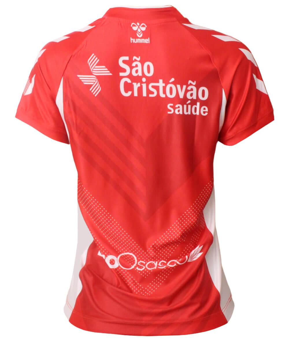 Camisa de Vôlei Osasco 2020/21 Vermelha - S/N° - Feminina