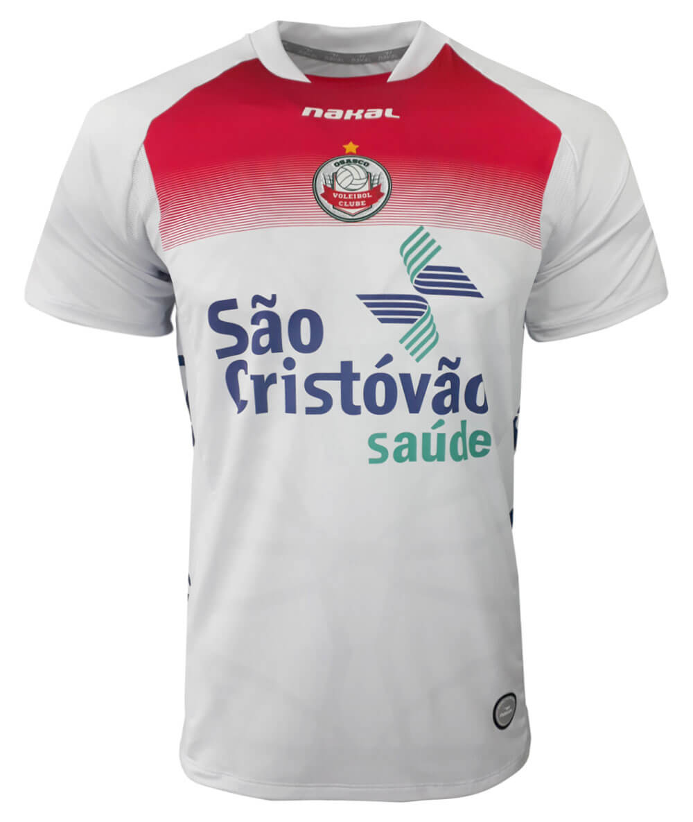 Camisa de Vôlei Osasco 2021/22 Branca - Masculina