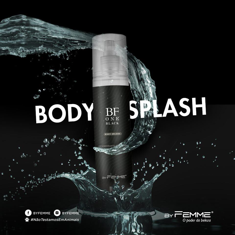 Body Splash BF One Black 250ml