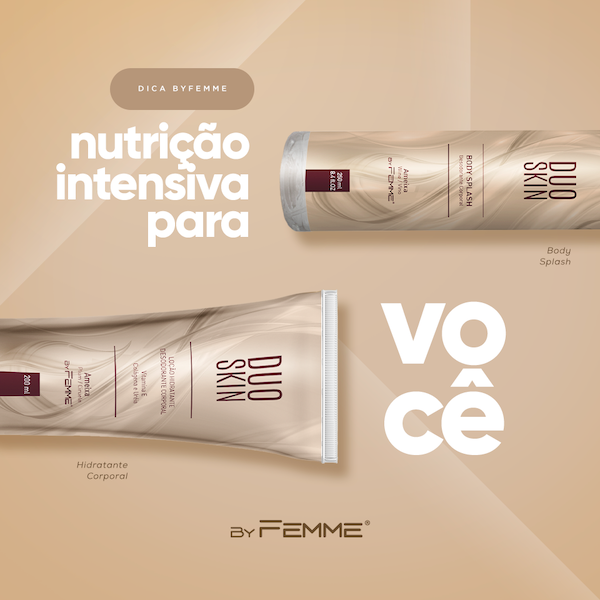 Kit Duo Skin Ameixa: Loção Hidratante + Body Splash