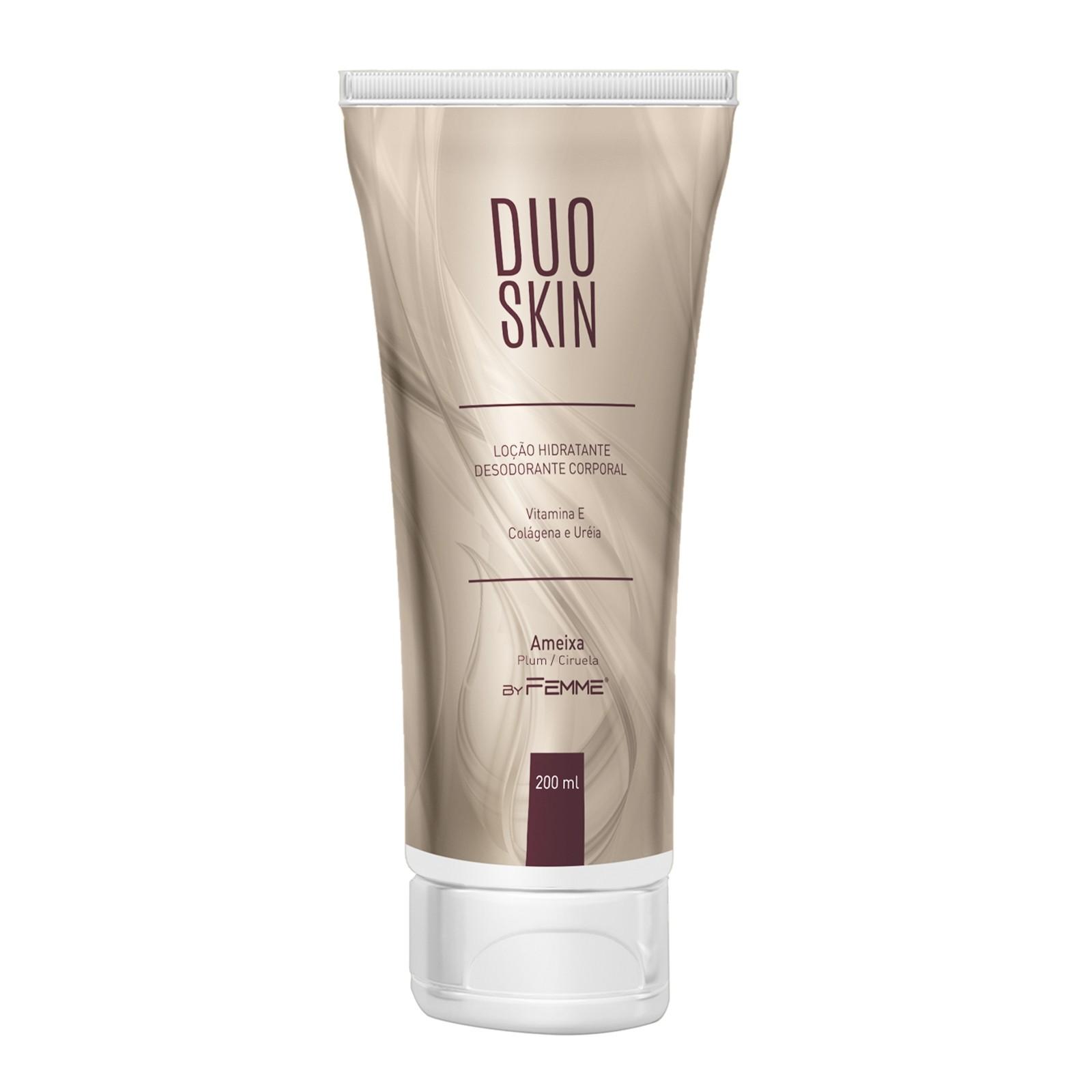 Loção Hidratante Duo Skin Ameixa 200ml