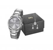 Relógio clássico Prata Mondaine