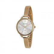Relógio Dourado minimalista Mondaine