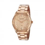 Relógio rose facetado Mondaine