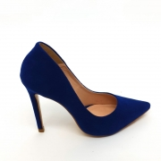 Sapato Scarpin Azul