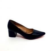 Sapato Scarpin preto verniz