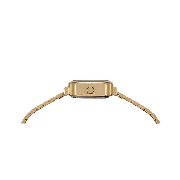 Kit Relógio digital Mondaine dourado