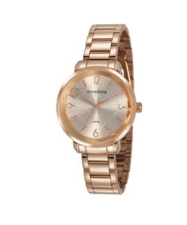 Relógio Casual Rose Gold Mondaine