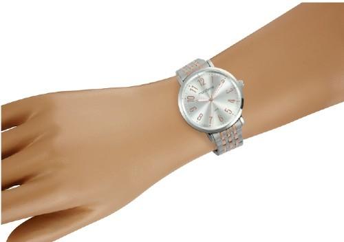 Relógio de pulso Mondaine Clássico Prata/Rose