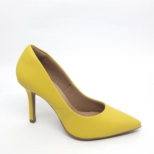 Sapato Scarpin Amarelo